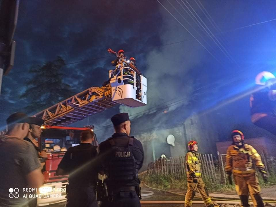 Tragiczny pożar budynku w Rudzie Śląskiej. Nie żyje jedna osoba!