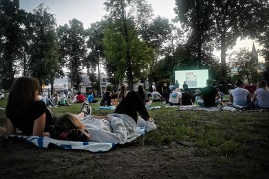 Za nami pierwszy seans kina letniego w #KochLove!