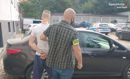 Ruda Śląska: 26-latek zaatakował rozbitą butelką taksówkarza