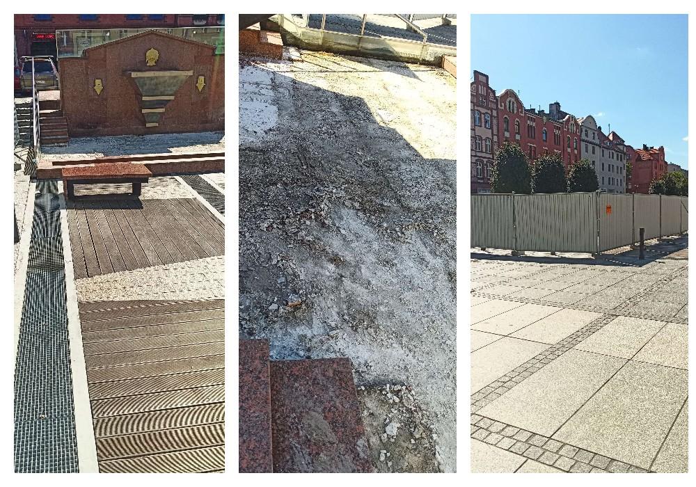 Nowy Bytom: Rozpoczął się remont bocznej fontanny na Placu Jana Pawła II