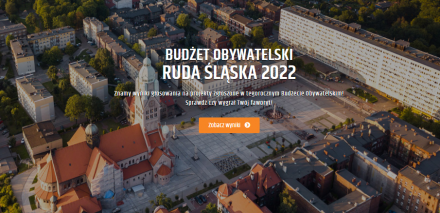Budżet Obywatelski 2022 w Rudzie Śląskiej. Znamy wyniki głosowania!