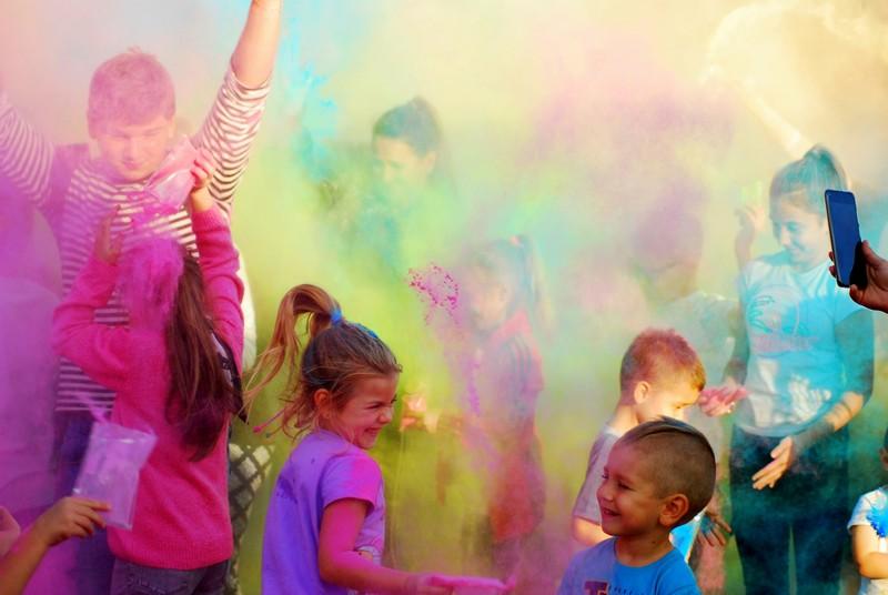 Bykowina: Święto Kolorów 2021 w Rudzie Śląskiej, czyli eksplozja barw i radości [FOTO]