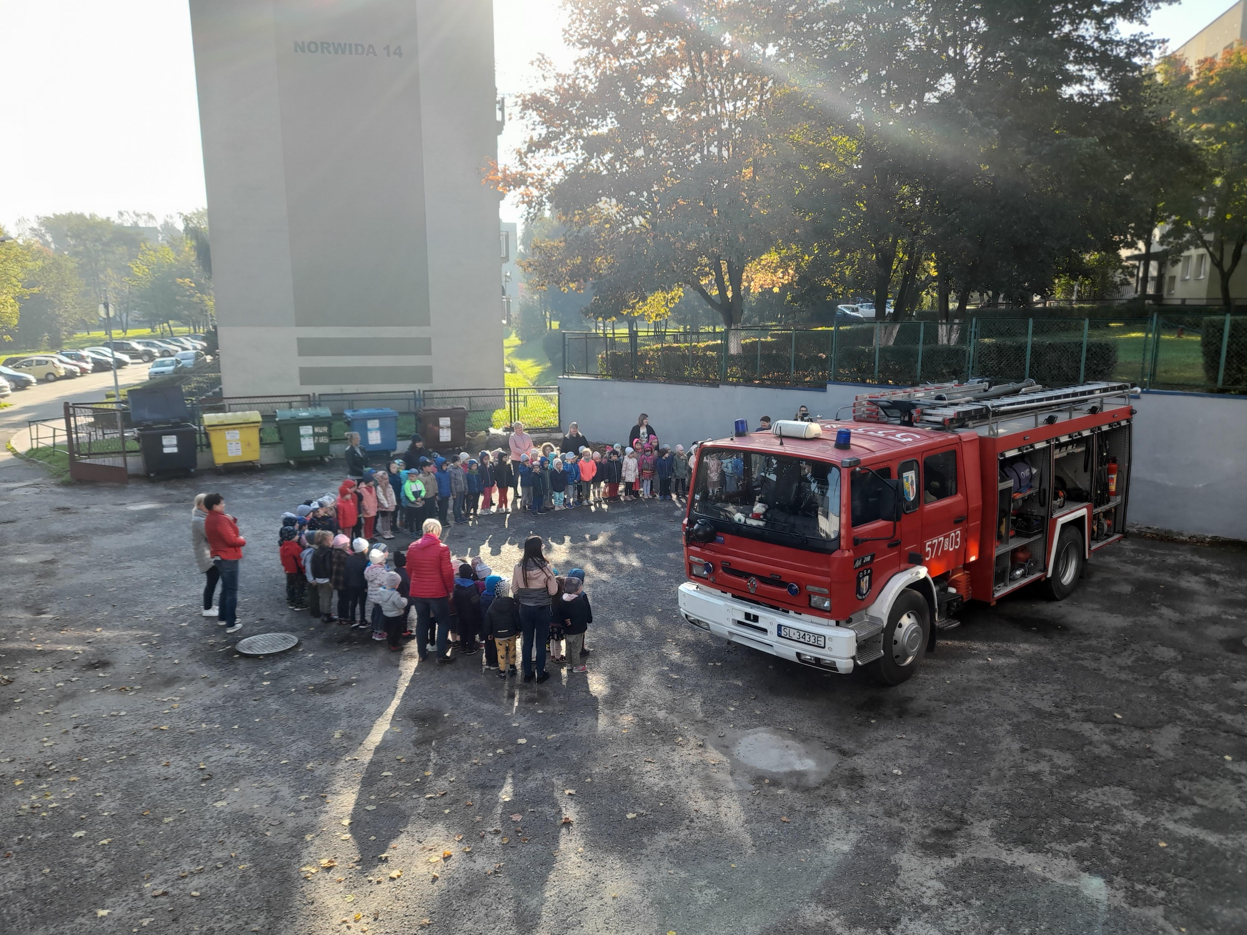 OSP w przedszkolu