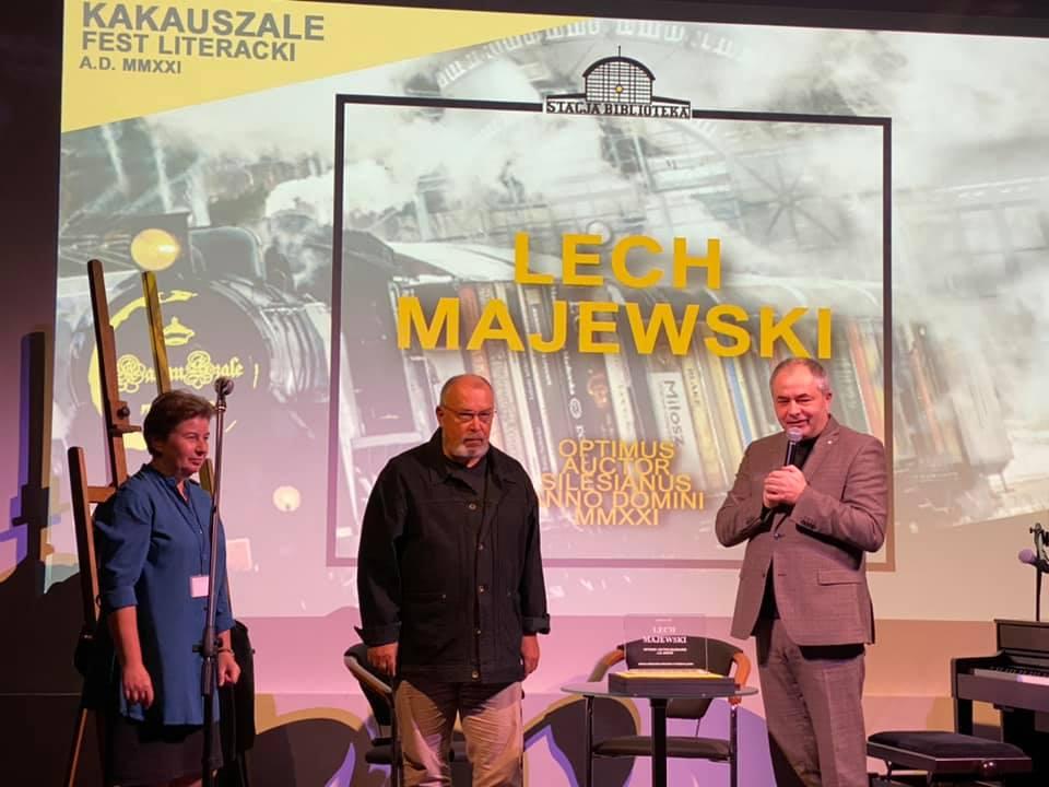Lech Majewski laureatem honorowej nagrody MBP w Rudzie Śląskiej