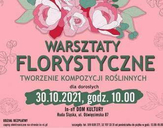 """Bezpłatne warsztaty florystyczne - """"TWORZENIE KOMPOZYCJI ROŚLINNYCH"""""""