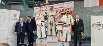 Komendant rudzkiej Straży Miejskiej wicemistrzem Polski w Karate Kyokushin