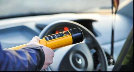 Nietrzeźwy kierowca z zakazem prowadzenia ujęty podczas kontroli