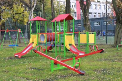 Nowy plac zabaw przy Miejskim Przedszkolu nr 21 w Rudzie Śląskiej gotowy!