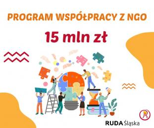 Co najmniej 15 mln zł dla rudzkich NGO-sów