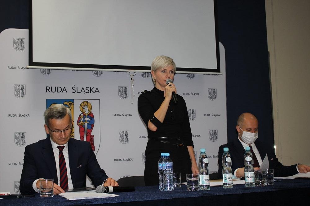 Mieszkańcy Bielszowic rozmawiali z władzami miasta o problemach dzielnicy