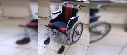 Poszukiwany właściciel wózka inwalidzkiego