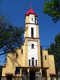 Parafia Czarny Las - Kościół pw. Ducha Świętego