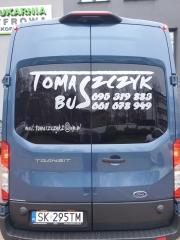 Usługi transportowe, Przewóz osób